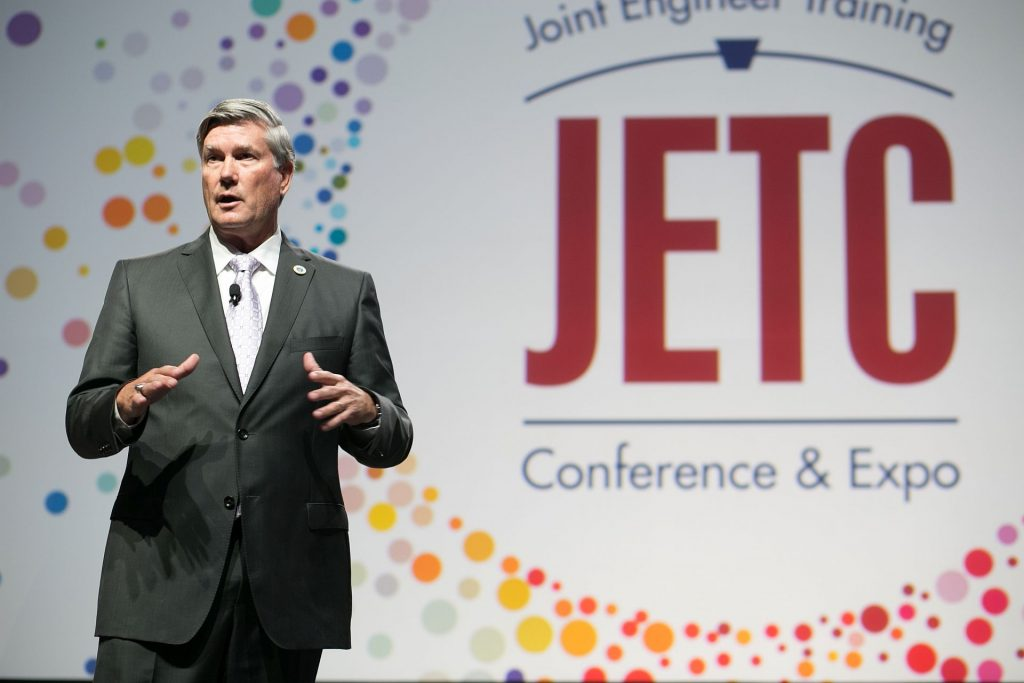 Marv Fisher at 2018 JETC