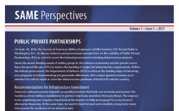 SAME Perspectives; Public-Private Partnerships