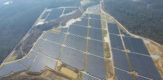Solar Array at For Benning