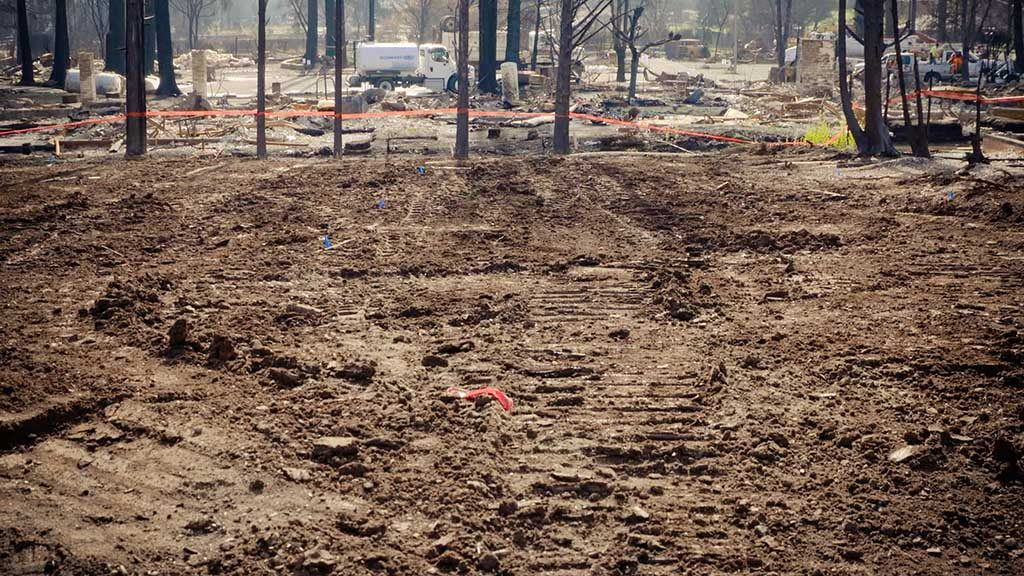 Historic Debris Removal Wildfire Response In Northern