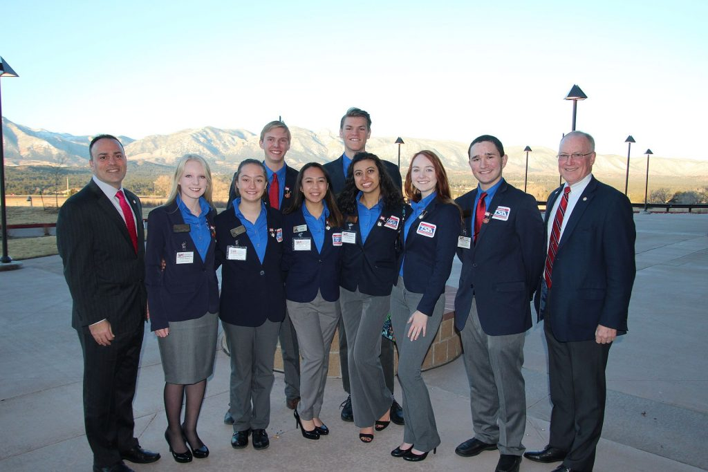 SAME Denver Metro and Pikes Peak Posts host Technology Student Association members
