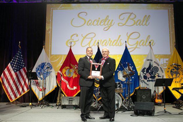 Gold Medal recipient Ron Torgerson