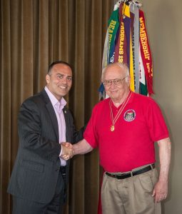 Sal Nodjomian, SAME President, Greater Kansas City Post