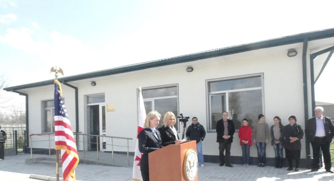 Celebrating a newly renovated school.
